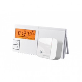 CRONO-TERMOSTAT RADIOFRECVENTA LCD ILUMINAT 091FLRF 2TEMPERATURI 9PROGRAME CU BATERII